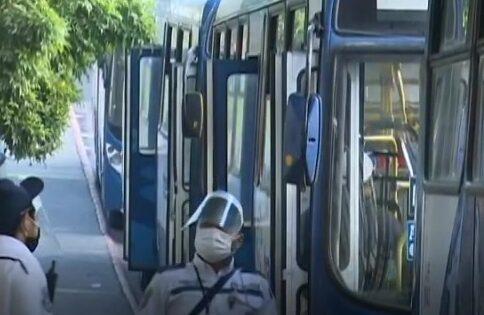 Realizan segunda jornada de ensayos del transporte transurbano