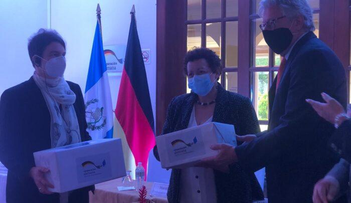 Alemania donó pruebas PCR a Guatemala