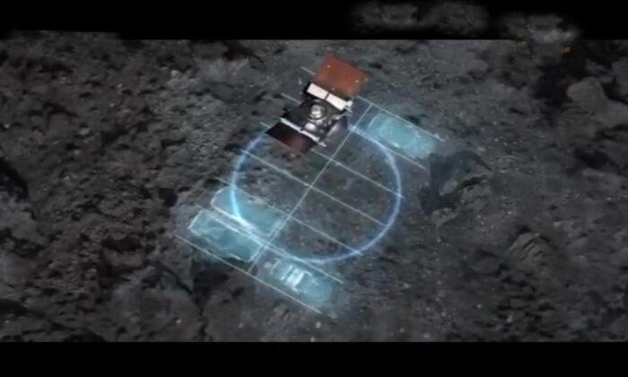 Nave de la NASA aterriza sobre asteroide por primera vez